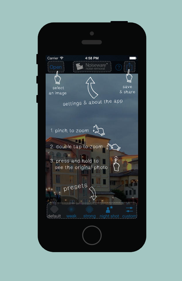 noiseware-ios-app
